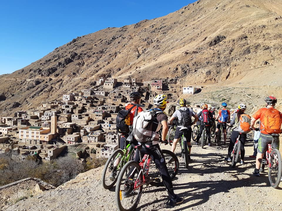 mountain biking in atlas mountains