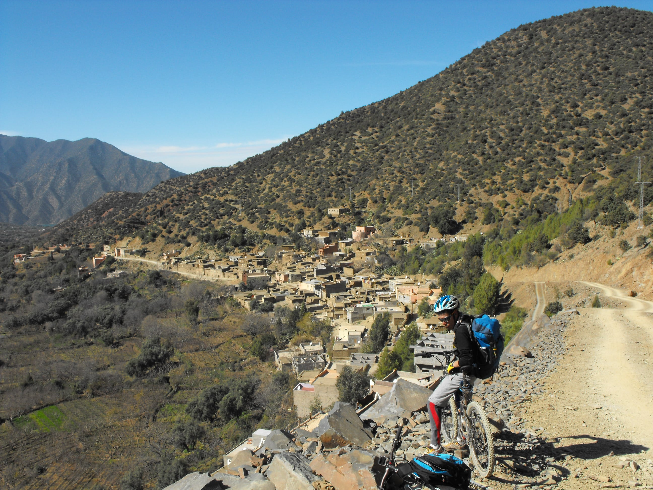 atlas mountains bike tour