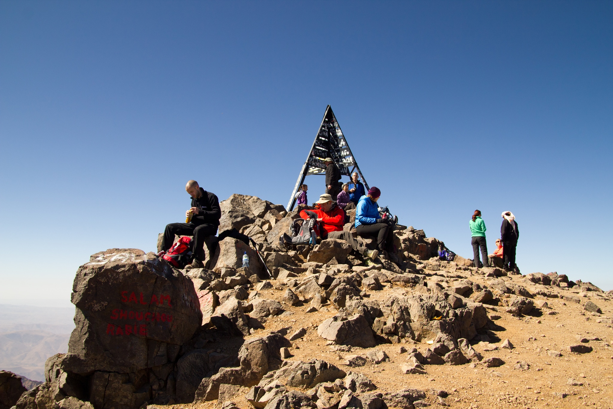 three days toubkal trek